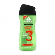 Adidas Shower Gel - Active Start 3 in 1 250ml