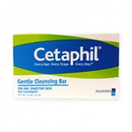 Cetaphil Soap Bar - Gentle Cleansing Bar for Dry and Sensitive Skin 127g