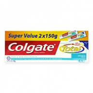 Colgate Total 12h Protection Advanced Fresh Tooth Gel 150g x 2
