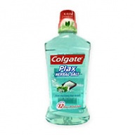 Colgate Mouth Rinse - Plax Herbal Salt 750ml
