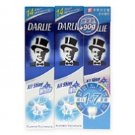 Darlie All Shiny White 1 + 7 Multicare Mint Toothpaste 2x160g+90g