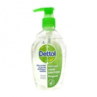 Dettol Hand Sanitizer - Original Instant - Kills 99.9% of Germs 200ml