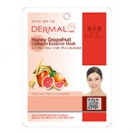 Dermal Collagen Mask - Honey Grapefruit 23g x 10s