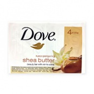 Dove Soap Bar - Purely Pampering Shea Butter With Vanilla Scent 100g x 4s