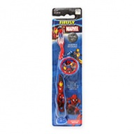 Fun Characters Toothbrush - Marvel Heroes Soft Souple with Cap for Ages 3+  1s