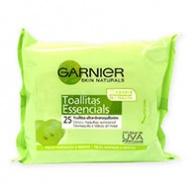 Garnier Cleansing Wipes - Skin Naturals For Normal Skin (25s)