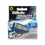 Gillette Cartridges - Mach 3 Turbo 4s