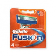 Gillette Cartridges - Fusion Blades 4s