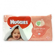 Huggies Soft Skin Baby Wipes with Shea Butter 56 Wipes
