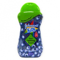 Johnson's Kids 2 in 1 Conditioning Shampoo ( Blueberry) 300ml