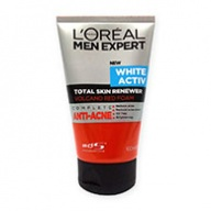 Loreal MEN Expert White Activ Total Skin Renewer Volcano Red Foam 100ml