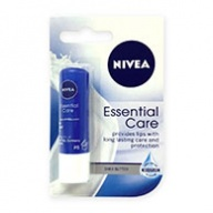 Nivea Lips Balm - Essential Care SPF 10 with Shea Butter 4.8g