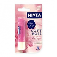 Nivea Lips Balm - Soft Rose SPF 10 with Jojoba Oil 4.8g