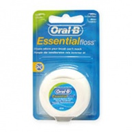 Oral-B Essential Mint Waxed Dental Floss 50m