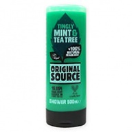 Original Source Mint And Tea Tree Shower Gel with Essential Oils 500ml