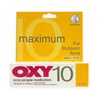 OXY 10 Acne Pimple Medication for Stubborn Acne 25g