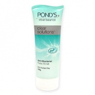 Ponds Face Scrub - Clear Solutions Anti Bacterial Face Scrub + Herbal Clay 100g