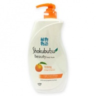 Shokubutsu Bottled - Firming Orange & Seaweed Beauty Body Foam 950ml