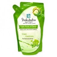Shokubutsu Green Freshness Revitalize & Shine Body Foam Refill 550g