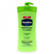 Vaseline Lotion - Intensive Care Aloe Soothe for Dry Skin 600ml